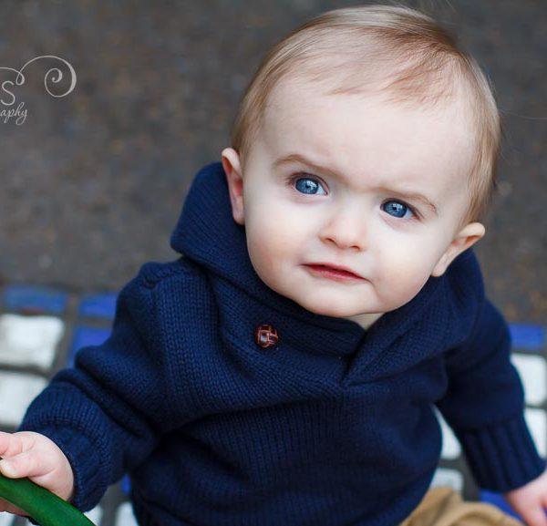 Sweet Little Guy is 1! | St. Louis Kids Photographer