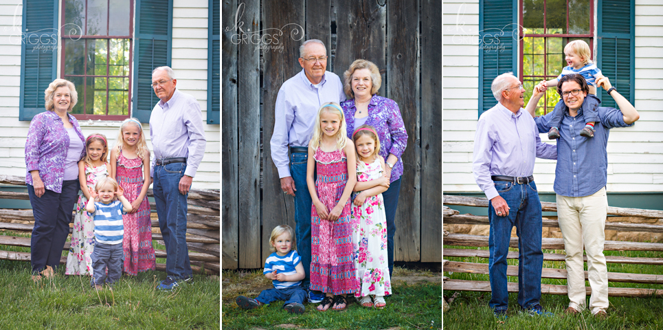 St Louis Family Photographer - KGriggs Photography - grandparents and kids