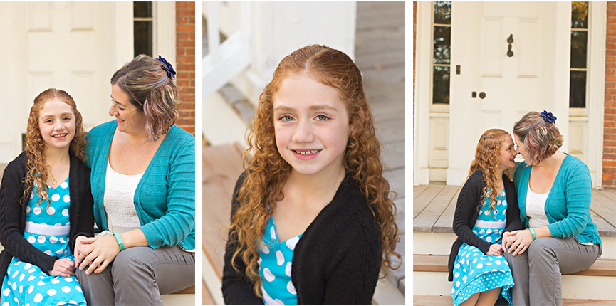 St. Louis Family Photographer - KGriggs Photography - three photos of mom and daughter - Queeny Park, St. Louis, MO