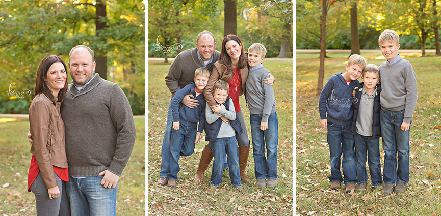 St. Louis Family Photographer - KGriggs Photography - fun family of five - Oak Knoll Park, St. Louis, MO