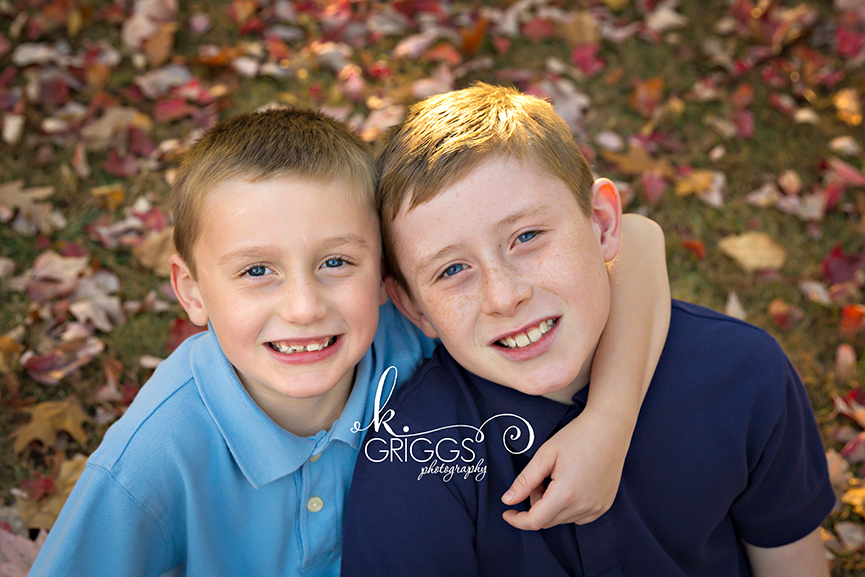 St. Louis Family Photographer - KGriggs Photography - two brothers - Faust Park, St. Louis, MO