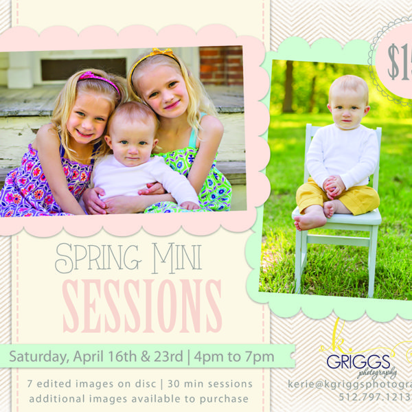 Spring Mini Photo Sessions | St. Louis Photographer