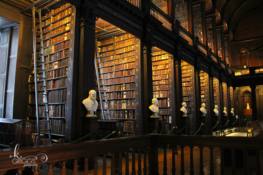 St. Louis Photographer - Ireland - Long Room