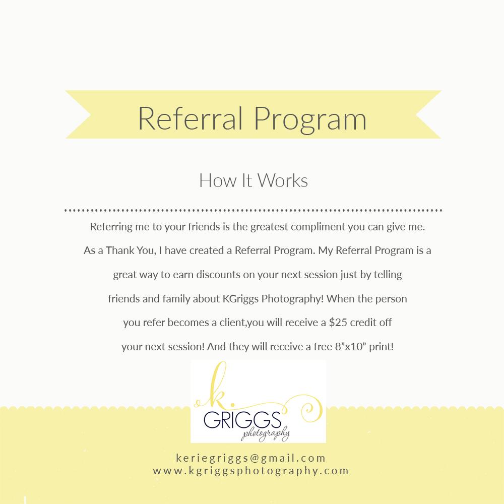 Client Referral Program | St. Louis Family Photographer